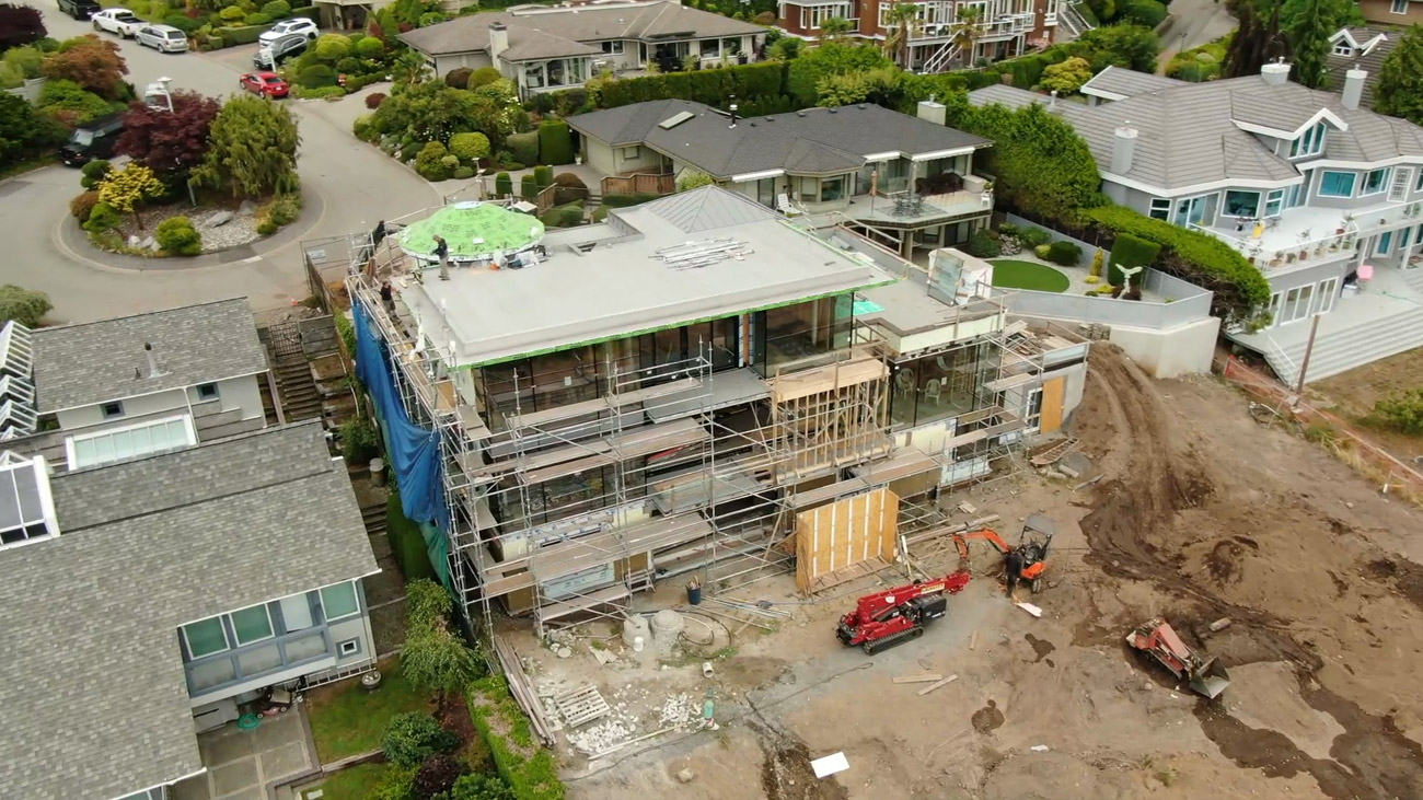 Wide Shot Of a Construction Site